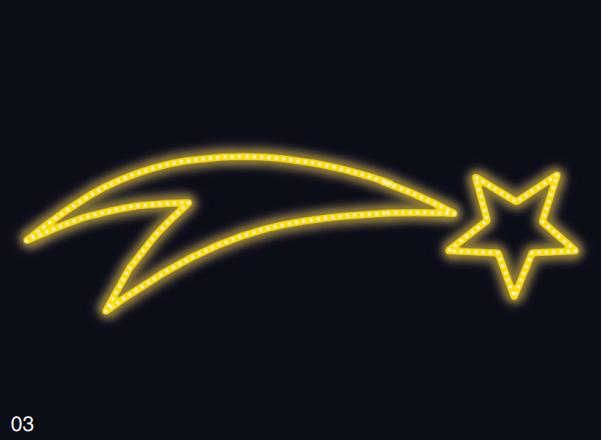 KOMETA bez rámu 2,10x0,75m žlutá