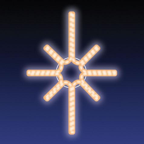 JISKRA LED 12W 43x60 cm teplá bílá