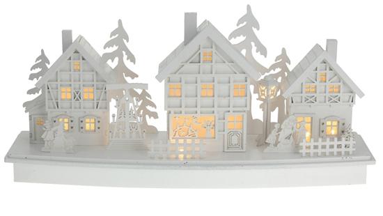 Dřevěná vesnice - varianta B