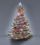 Komplet na Vánoční strom - varianta 5