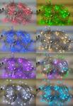 MAXILEB-LED řetěz měnící barvy 10m/100LED na dálkové ovládání