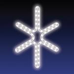 JISKRA DECO HIGH-PROFI studená bílá 36x44cm