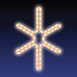 JISKRA DECO HIGH-PROFI teplá bílá 36x44cm
