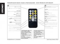 Dálkový ovladač pro MAXILEB-LED studený/teplý