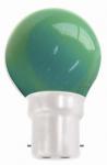 ŽÁROVKY LED bajonet B22 - 1W zelená