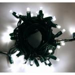 LED řetěz HIGH-PROFI 35 LED studená bílá +5 LED FLASH efekt - 5m