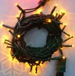 LED ŘETĚZ HIGH-PROFI 40 LED/5m žlutá