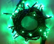 LED ŘETĚZ HIGH-PROFI 40 LED/5m zelená