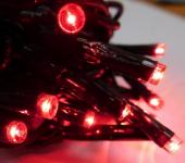 LED ŘETĚZ HIGH-PROFI 40 LED/5m červená