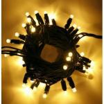 LED řetěz HIGH-PROFI 40 LED/5m prodlužitelný teplá bílá