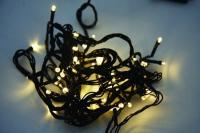 Vánoční LED řetěz na baterie 24 LED/1,8m teplá bílá