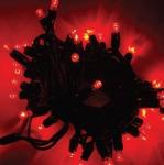 LED řetěz HIGH-PROFI 40 LED/5m prodloužitelný červený