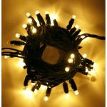 LED ŘETĚZ HIGH-PROFI 40 LED/5m teplá bílá PRODLOUŽITELNÝ