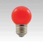 LED žárovka E27 - 1W červená 1W/015