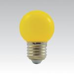 LED žárovka E27 - 1W žlutá 1W/016
