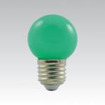 LED žárovka E27 - 1W zelená 1W/017