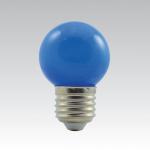 LED žárovka E27 - 1W modrá 1W/018