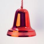 Zvonek červený lesk 25cm