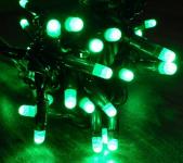 MAXILEB-LED - světelný řetěz 20m/200 LED zelených