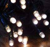 MAXILEB-LED - světelný řetěz 20m/200 LED teple bílých