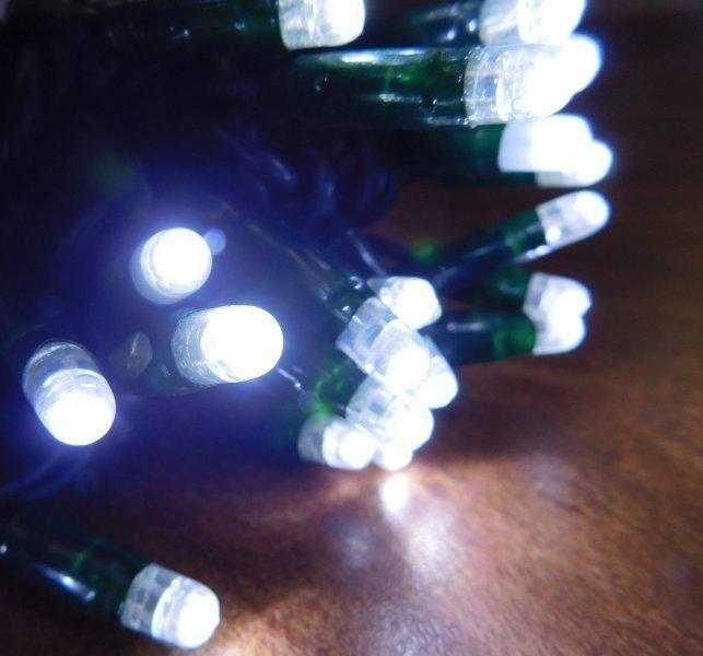 MAXILEB-LED světelný řetěz  studená bílá