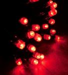 MAXILEB-LED - světelný řetěz 20m/200 LED červených