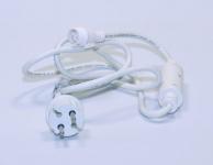 HIGH-PROFI napájecí kabel 230V - 1,5m bílý