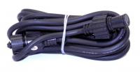 HIGH-PROFI prodlužovací kabel 230V 5m černý
