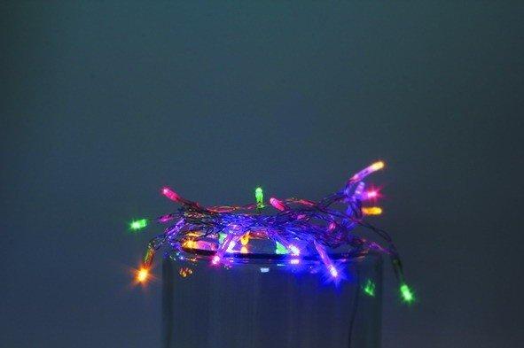 Vánoční LED řetěz na baterie 20 LED/2m multicolor