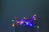 Vánoční LED řetěz na baterie 30 LED/3m multicolor