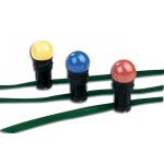 Zelený plochý kabel