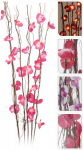 Orchidej svítící - fialová 110 cm