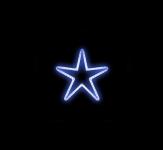 HVĚZDIČKA MALÁ HIGH-PROFI modrá