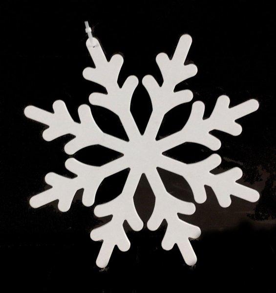 Vánoční vločka plastová 50cm