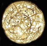 Svítící koule laminátová 25cm