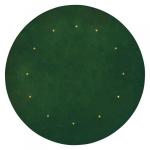 Vánoční koberec zelený