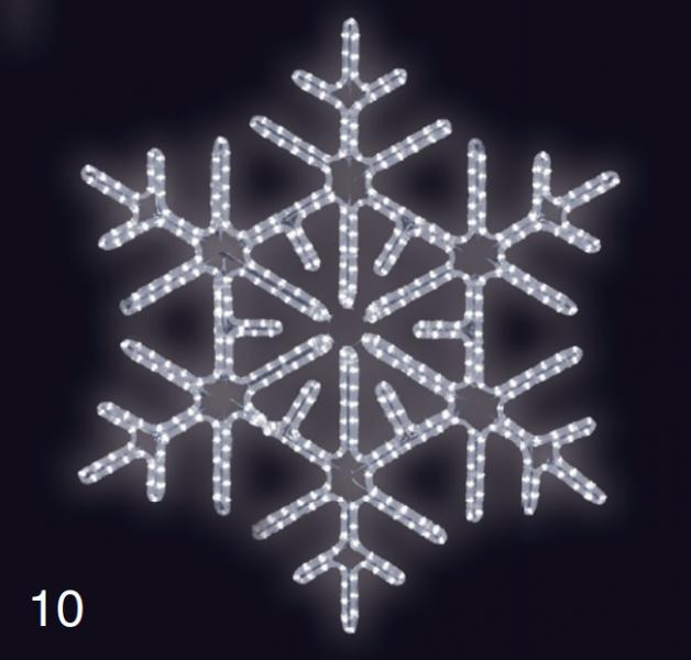 VLOČKA DIAMANT 0,95x0,95m studená bílá
