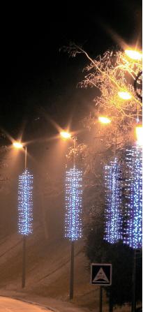 """LED GIRLANDY """"VĚTVIČKY"""" 230 V studená bílá 3,5x0,7m"""