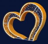 3D Srdce 2,2x1,7m
