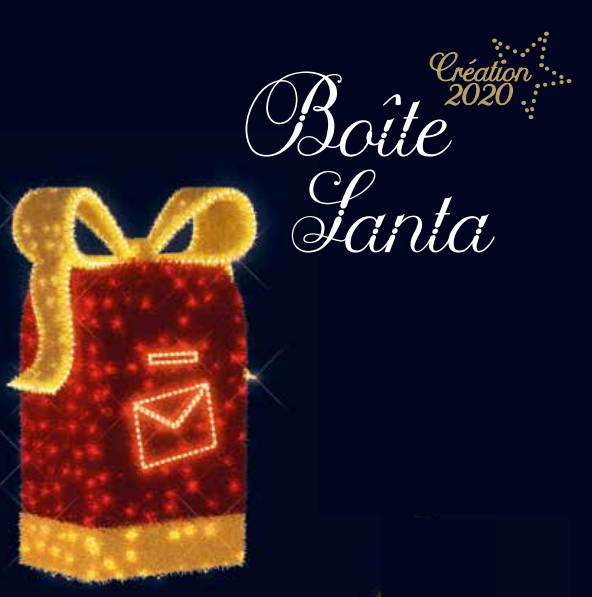 Schránka na vánoční přání BOÎTE SANTA