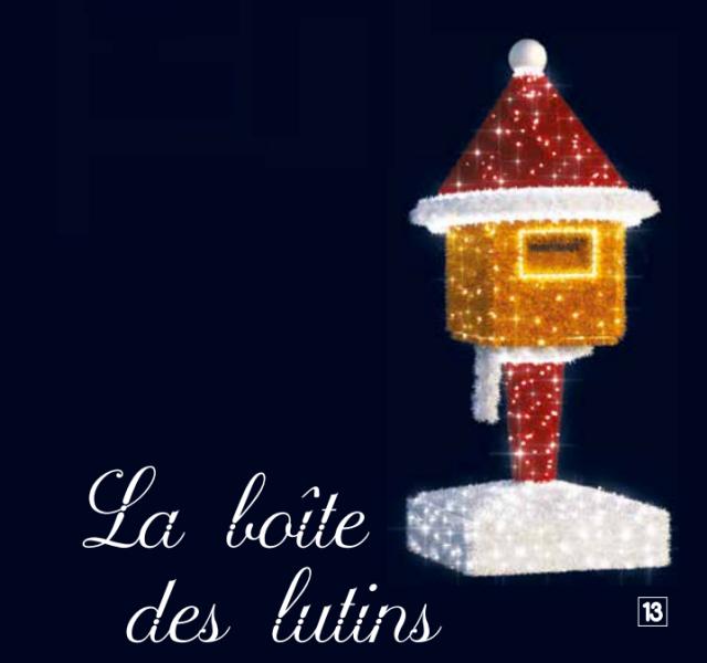 Schránka na vánoční přání