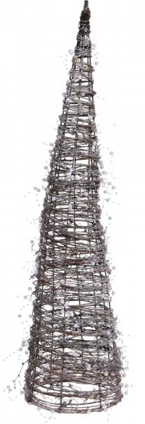 RATANOVÝ KUŽEL svítící 80cm