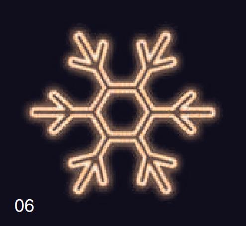 VLOČKA KLASIK 1,2x1,2m teplá bílá