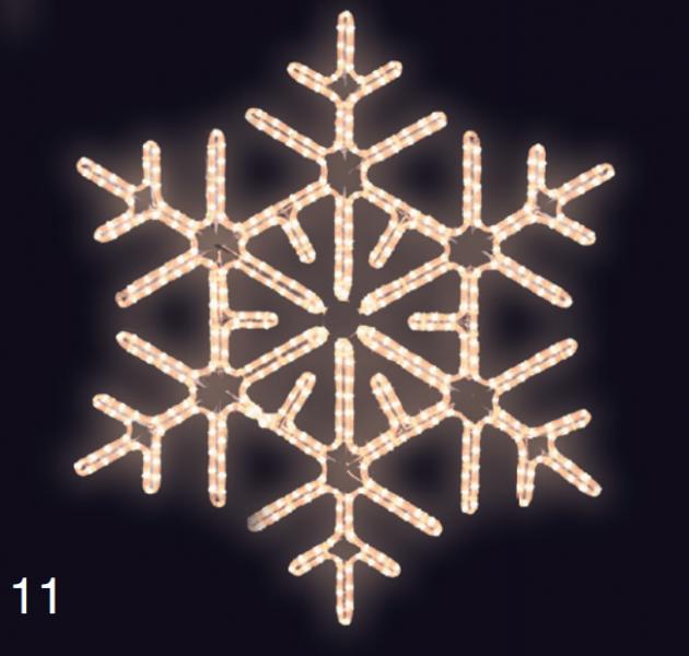 VLOČKA DIAMANT 0,95x0,95 teplá bílá